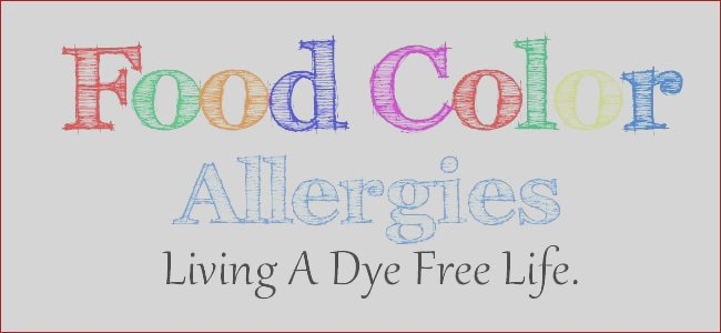 food color allergies live dye free life