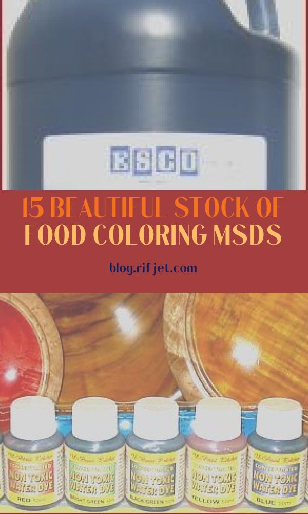 Food Coloring Msds Awesome Gallery Blue Food Coloring