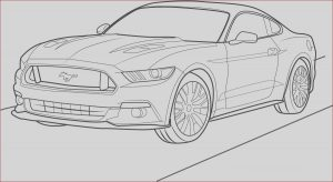 Ford Gt Coloring Pages Beautiful Photos ford Mustang Gt 2015 Front View Coloring Page Free
