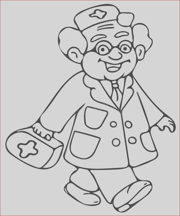 stock illustration kids doctor coloring pages high quality hand drawing illustration picture you can see funny great picture all your image