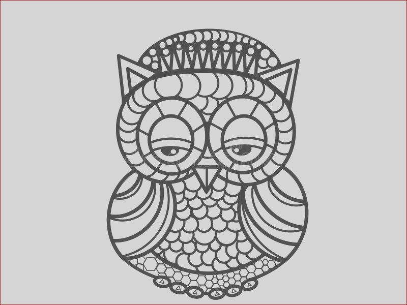stock illustration owl adults coloring pages high quality hand drawing illustration poster you can see great picture many many image