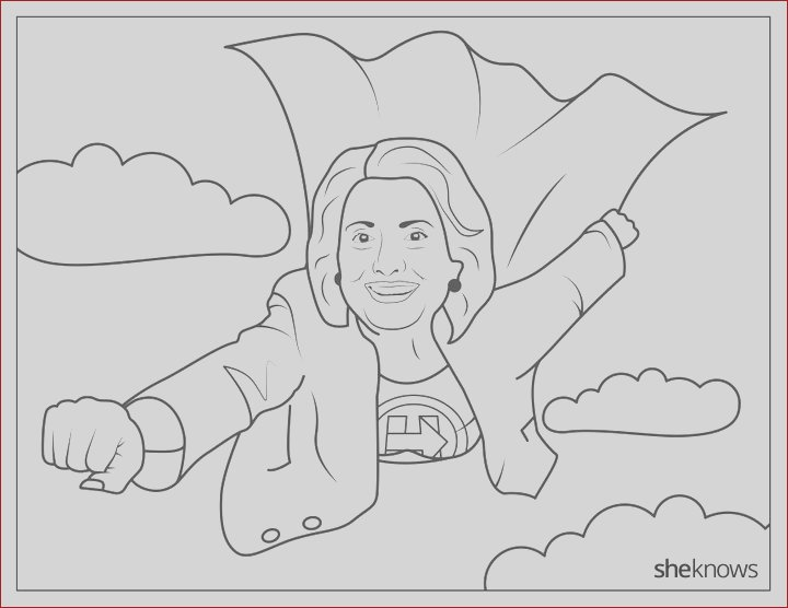this hillary clinton coloring book is jam packed with girl power us 579b5d16e4b08a8e8b5da104