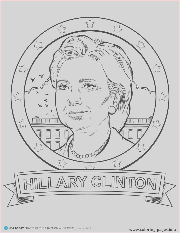 donald trump hillary clinton printable coloring pages book