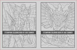 How to Get A Coloring Book Published Beautiful Photos Steampunk Coloring Book Paperback