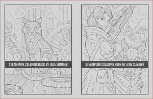 How to Get A Coloring Book Published Beautiful Stock Steampunk Coloring Book Paperback