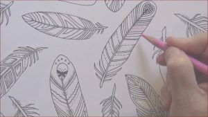 How to Get A Coloring Book Published Cool Gallery How to Color Feathers From the Enchanted forest Coloring