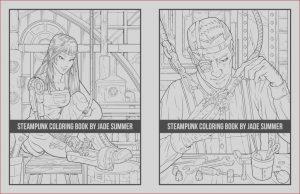 How to Get A Coloring Book Published Elegant Photos Steampunk Coloring Book Paperback