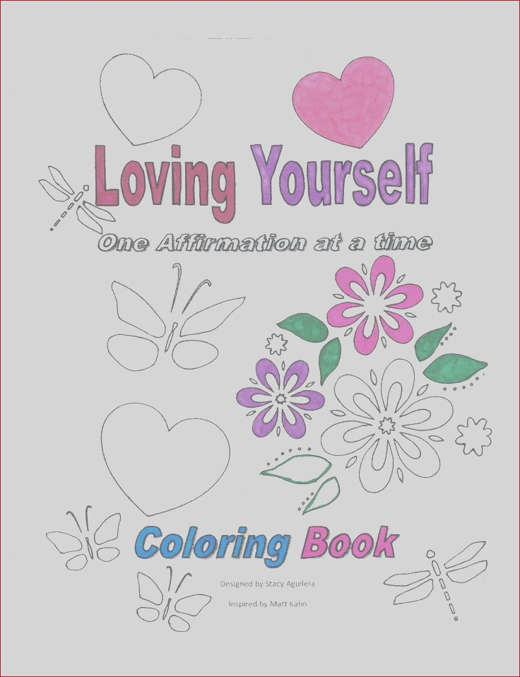 self love coloring pages