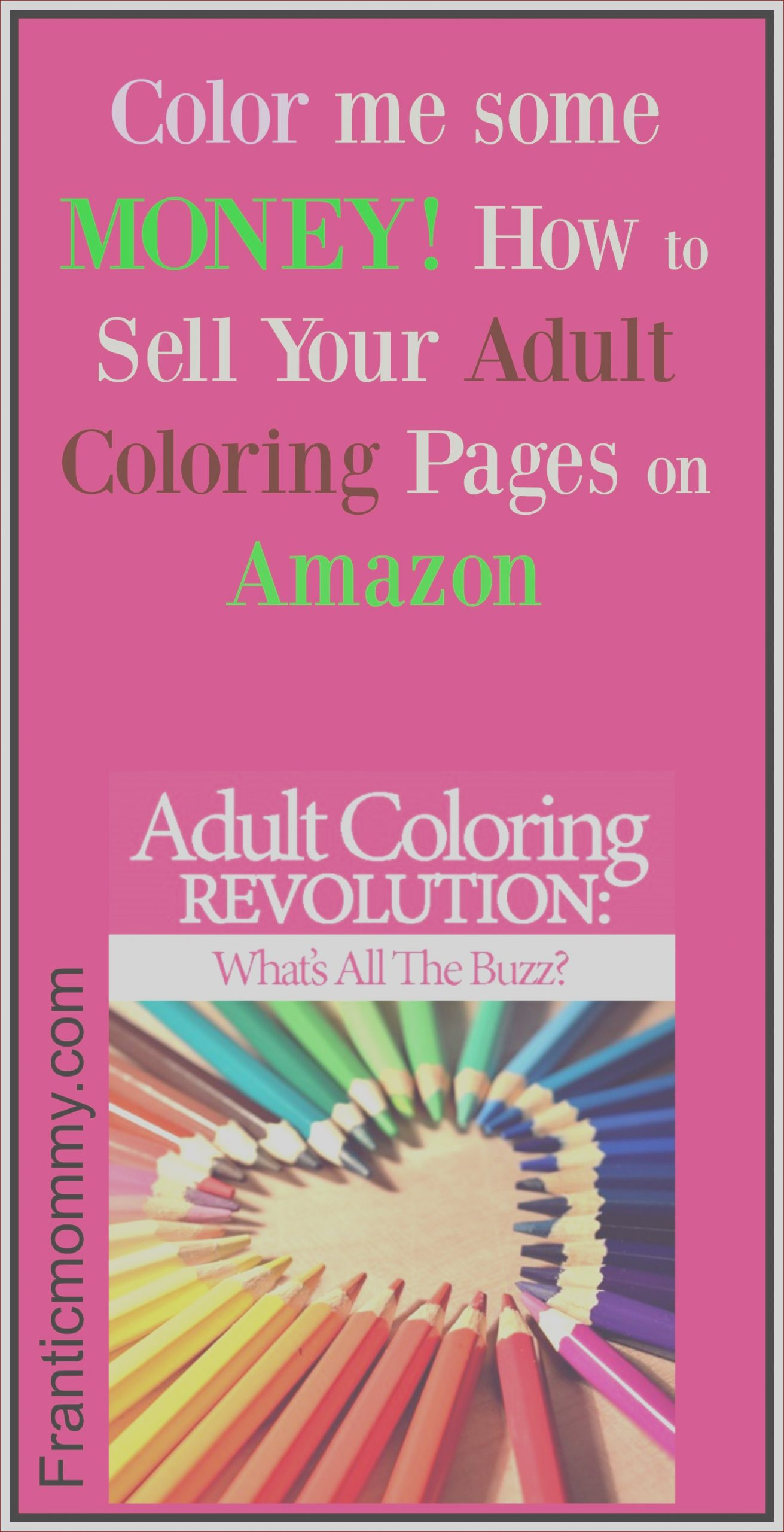how to publish an adult coloring book