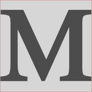 M&m Coloring Page Cool Image Wrought Iron Address Letter M