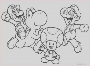 Mario Coloring Pages to Print Awesome Images Free Printable Mario Brothers Coloring Pages for Kids