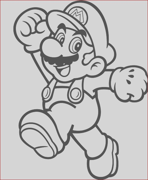 official mario coloring pages
