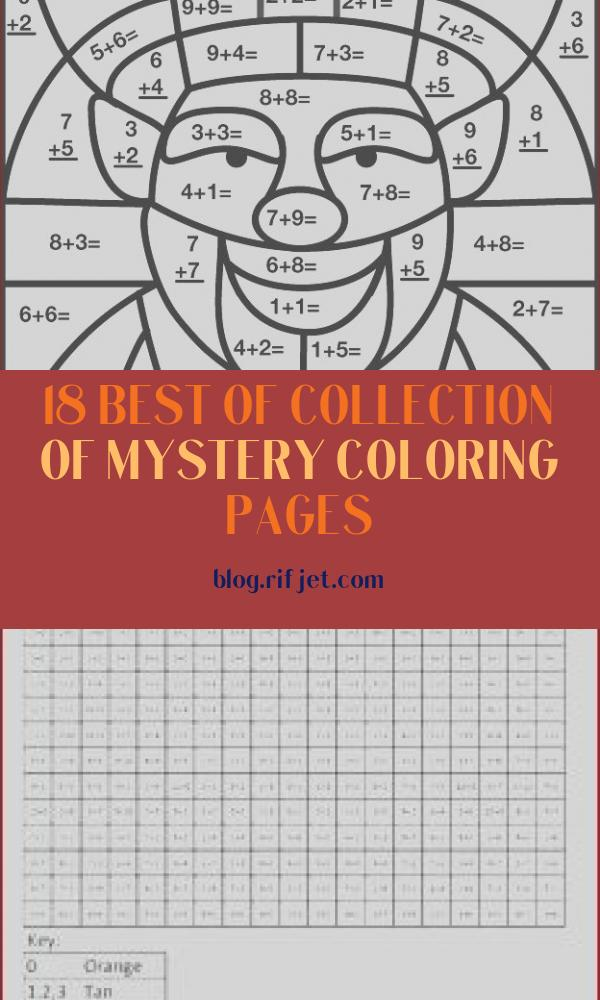 Mystery Coloring Pages Beautiful Image Other Graphical Works Mystery Math Picture for Children S