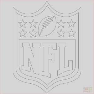 Nfl Logo Coloring Luxury Images Nfl Logo Coloring Page