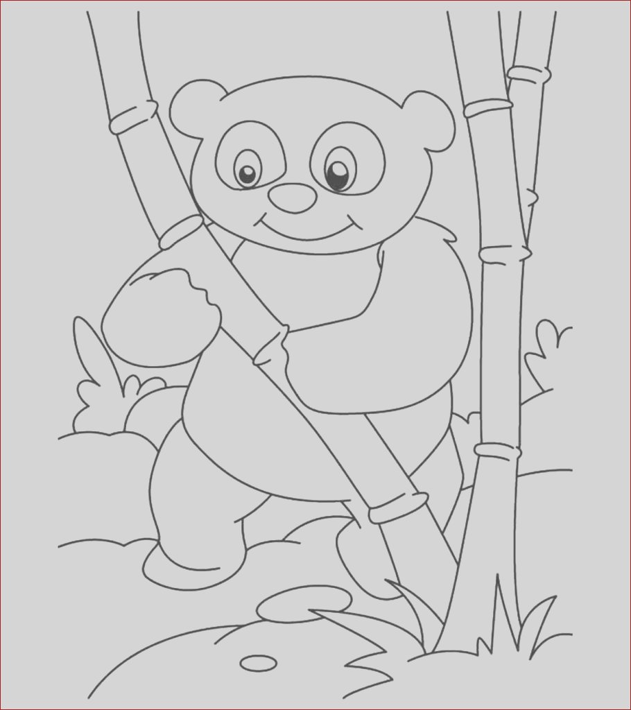 panda bear coloring pages little ones