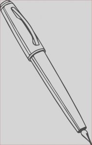 Pen Coloring Pages Awesome Images Calligraphy Pen Coloring Page