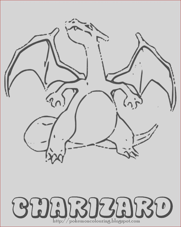 charizard and bee coloring pages