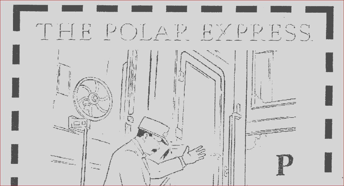 coloring pages of polar train express