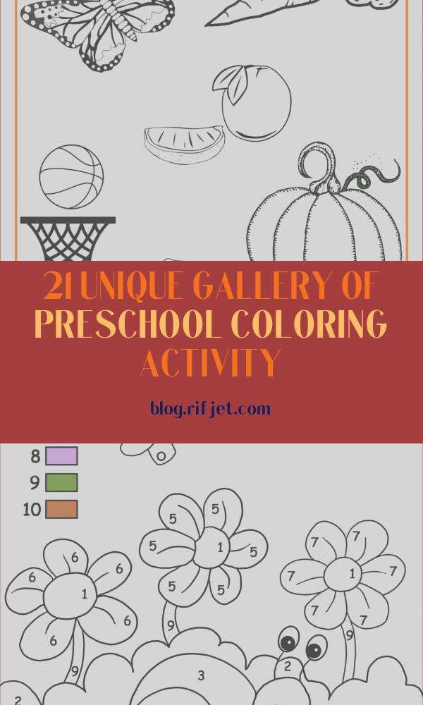 Preschool Coloring Activity Beautiful Stock orange Color Activity Sheet Repinned by totetude