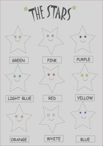 Preschool Coloring Activity Inspirational Photos Kids Page Color the Stars Worksheets
