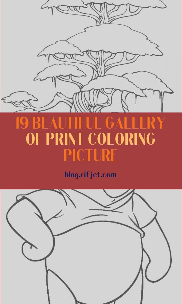 Print Coloring Picture Elegant Stock Free Printable Tree Coloring Pages for Kids