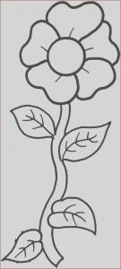 Print Coloring Picture Luxury Stock Free Flower Printable