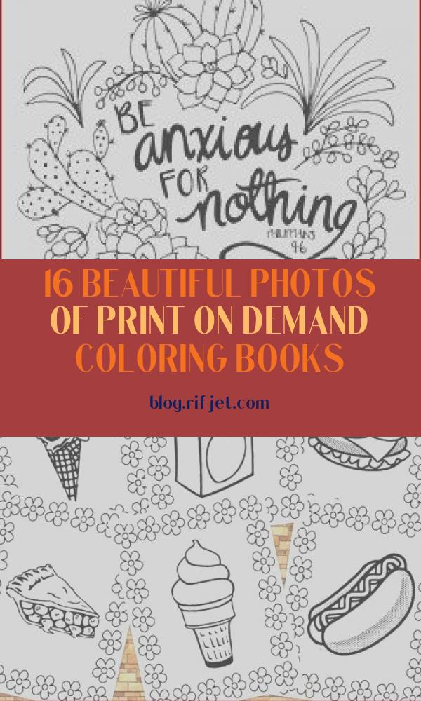 Print On Demand Coloring Books Beautiful Photos Coloring Canvas Canvas Demand