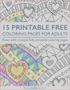 Printable Coloring Book Pdf Beautiful Collection 15 Printable Free Coloring Pages for Adults [pdf