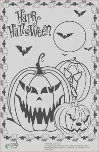 Printable Coloring Pages Halloween Beautiful Image Halloween Coloring Pages Free Printable Scary Coloring Home