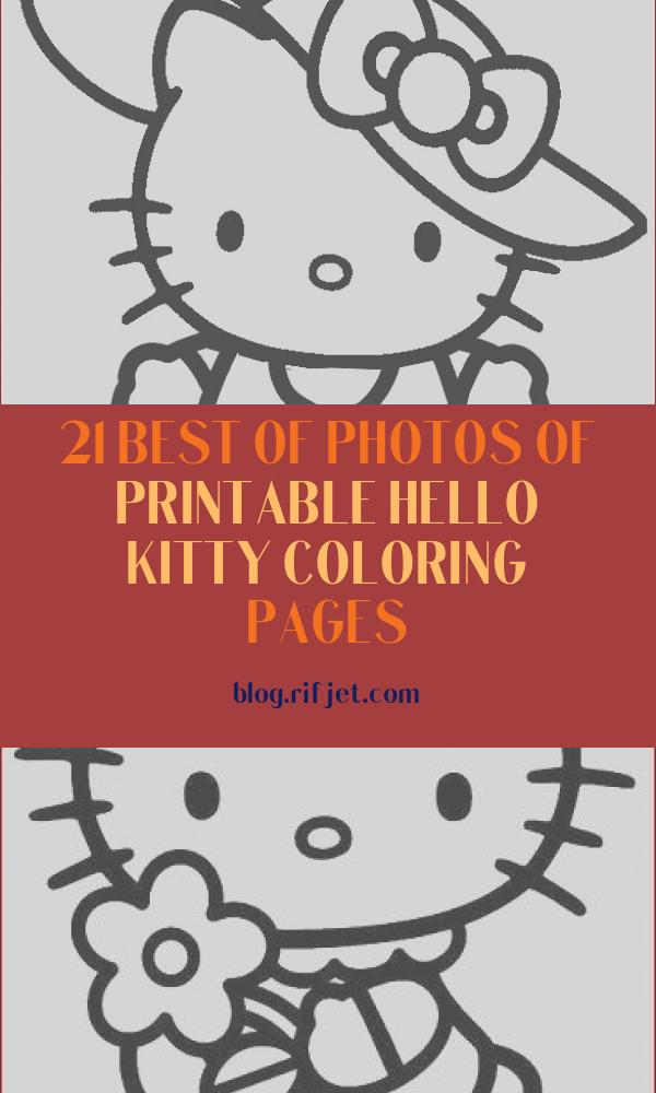 Printable Hello Kitty Coloring Pages Cool Collection Free Printable Hello Kitty Coloring Pages for Pages
