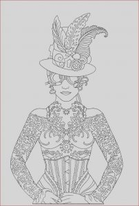 Printing and Coloring Inspirational Image Steampunk Printable Coloring Book Page Easy to Medium