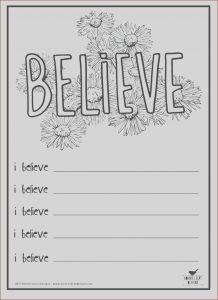 """Printing Coloring Books Awesome Stock Free Printable """"believe"""" Coloring or Journal Page"""