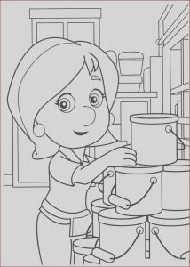 Printing Coloring Books Best Of Stock Handy Manny Coloring Pages