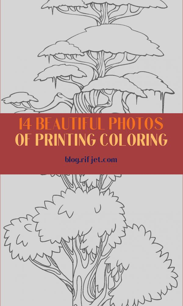 Printing Coloring New Photos Free Printable Tree Coloring Pages for Kids