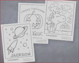 Promotional Coloring Books Beautiful Photos Free Personalized Coloring Pages for Kids My Frugal