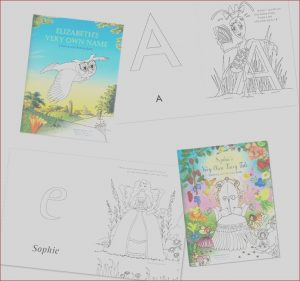 Promotional Coloring Books Elegant Collection Personalized Books for Kids