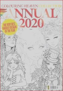 Publish Coloring Book Best Of Gallery Colouring Heaven Collection issue 10 Annual 2020 Buy