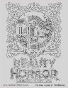 Publish Coloring Book Inspirational Images Alan Robert & the Beauty Of Horror Ii Coloring Book