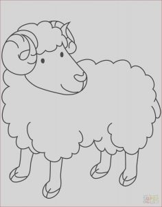 Ram Coloring Page Beautiful Image Ram Coloring Page