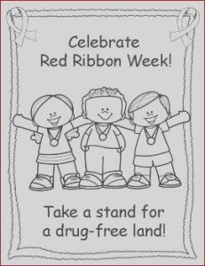 Red Ribbon Week Coloring Pages Beautiful Stock Red Ribbon Week Coloring Pages by Miss P S Prek Pups