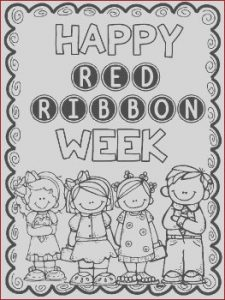 Red Ribbon Week Coloring Pages Best Of Photos Red Ribbon Week