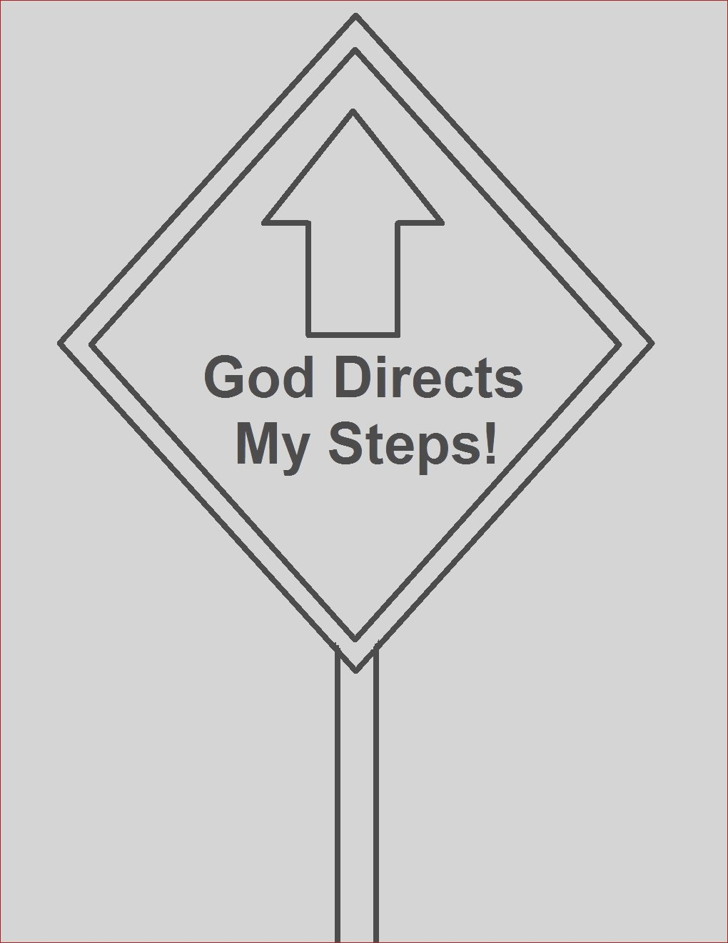 street sign coloring page cliparts