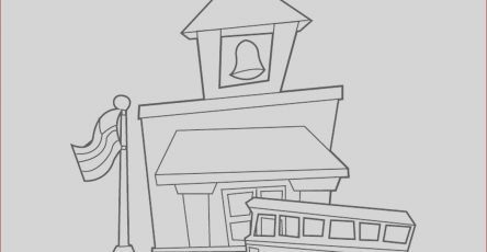 School House Coloring Pages New Gallery School House Coloring Red for Coloring Pages for