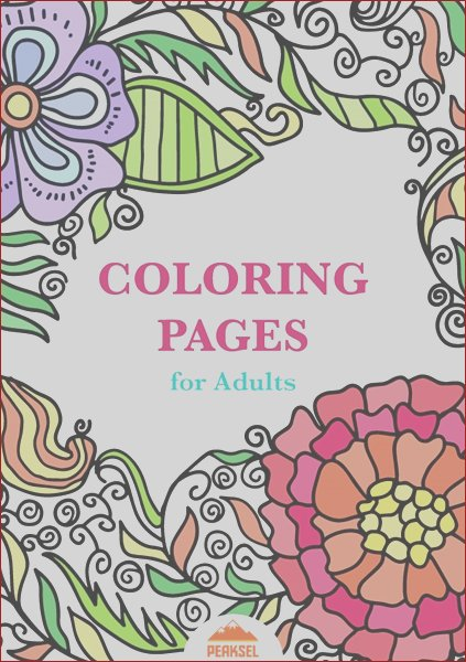 WPLBN Coloring Pages for Adults Coloring book for grown ups Volume 1 by Petkovic Marko