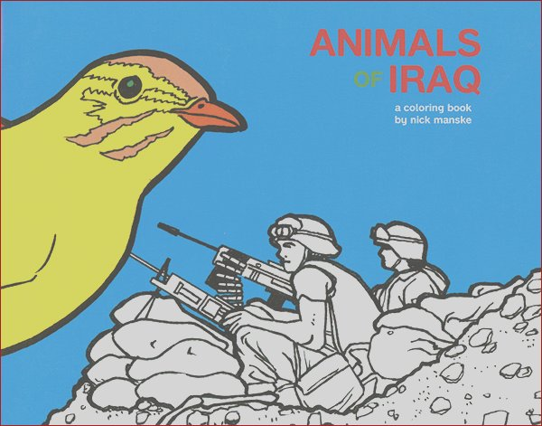 Animals of Iraq Coloring Book
