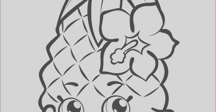 Shopkins Printable Coloring Pages Luxury Collection Print Fruit Pineapple Shopkins Season 1 Coloring Pages