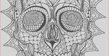 Skull Adult Coloring Pages Elegant Images Coloring Page Zentangle Sugar Skull Digital Coloring Pdf