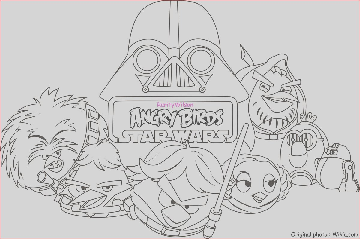 angry birds star wars coloring pages