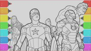 Super Hero Printable Coloring Pages Luxury Gallery the Avengers Superhero Coloring Pages