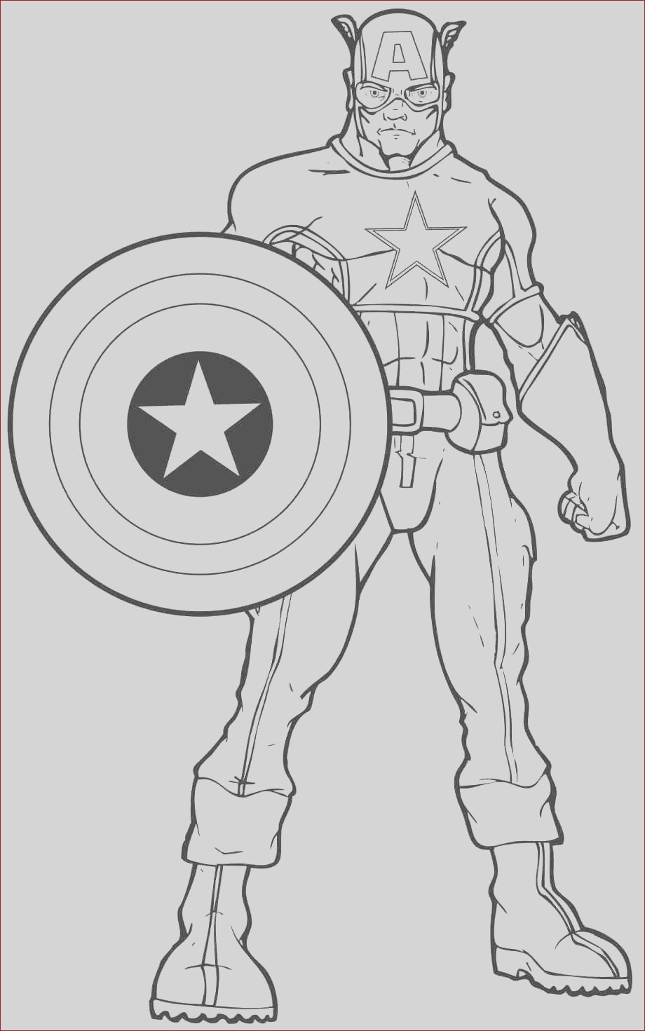 coloring pages of superheroes printables
